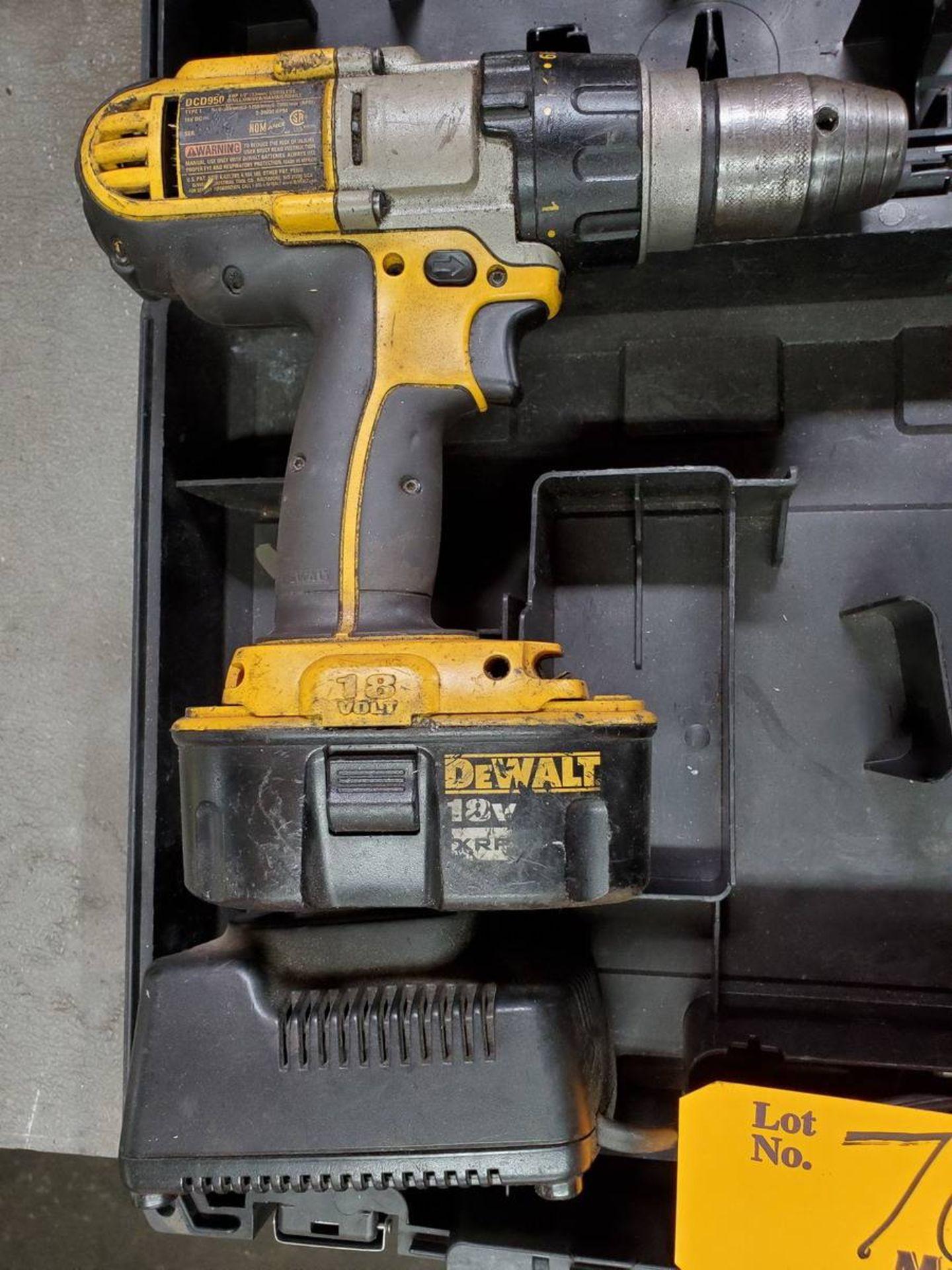 Lot 70 - Dewalt DCD950 Cordless Hammer Drill