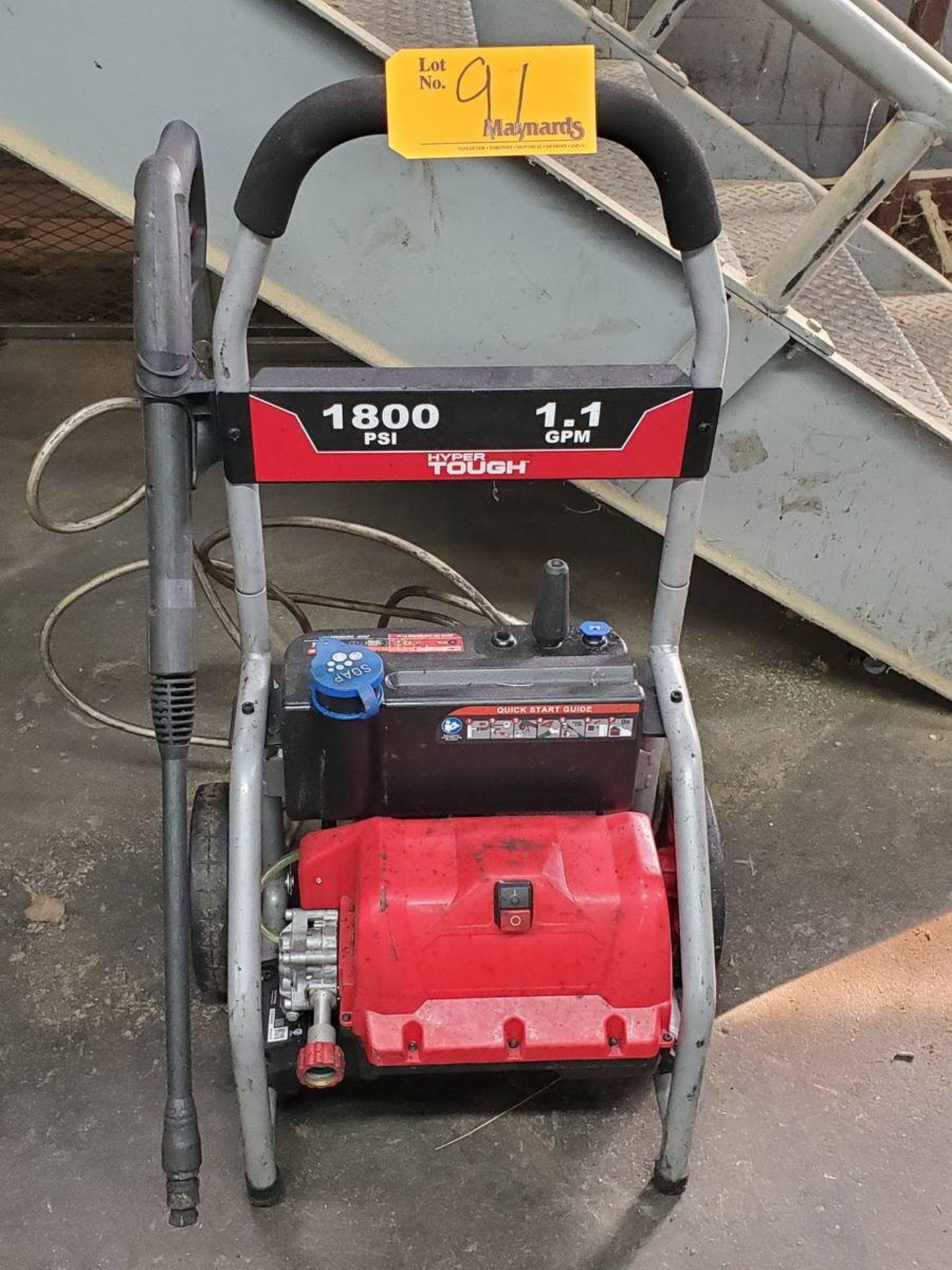 Lot 91 - Hyper Tough Ele Pressure Washer