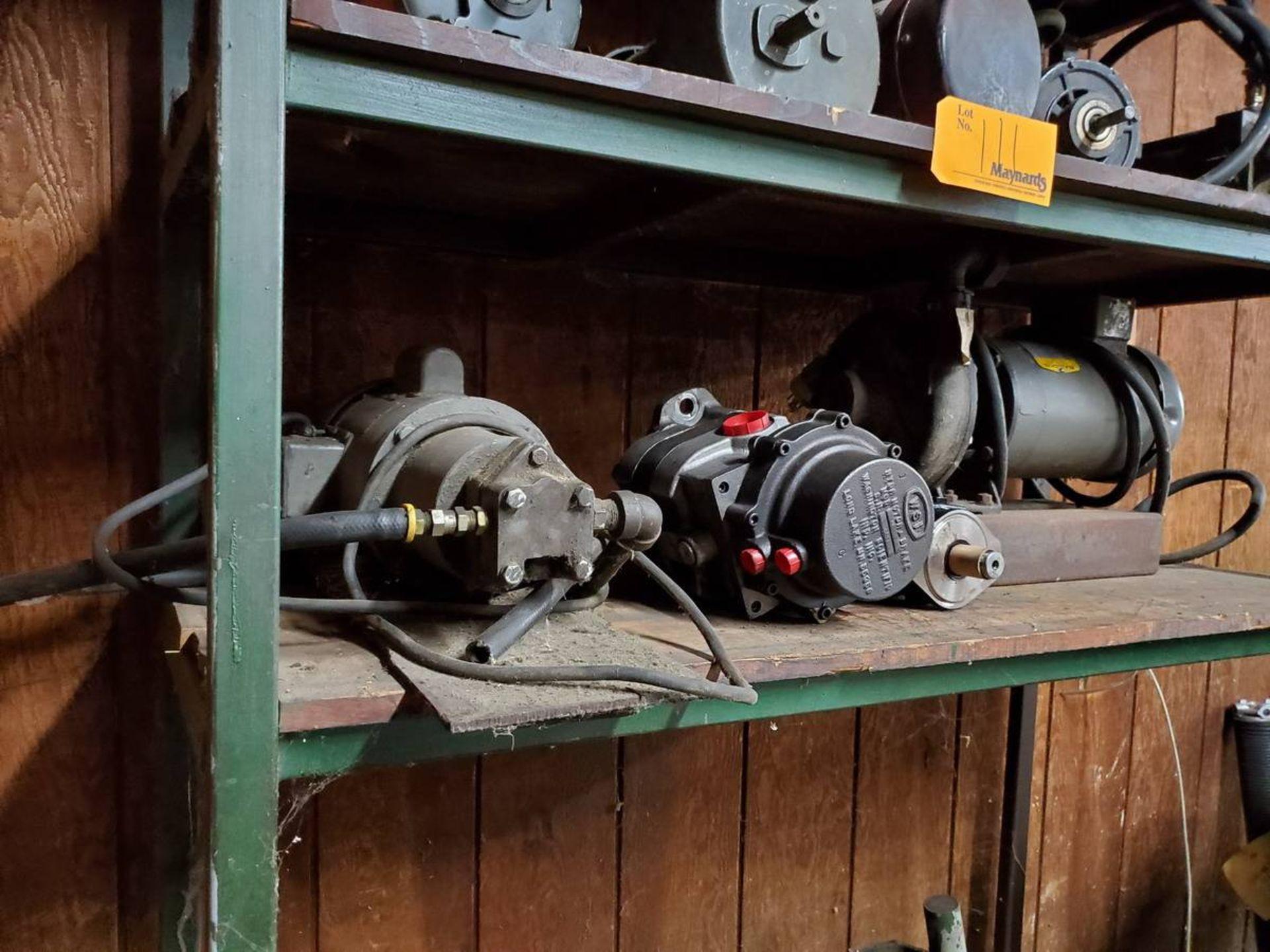 Lot 111 - Motors & Gearboxes
