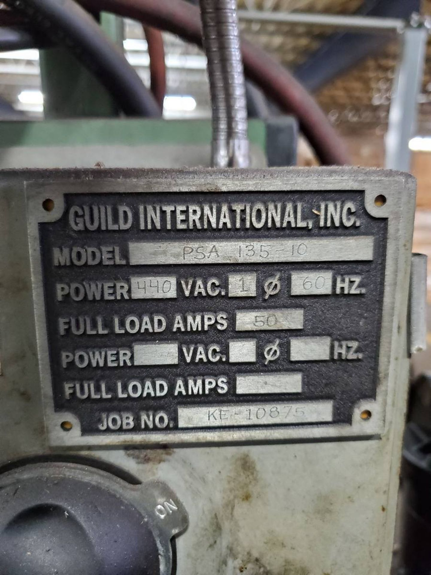 Lot 95A - Guild PSA 135-10 Shear & End Welder