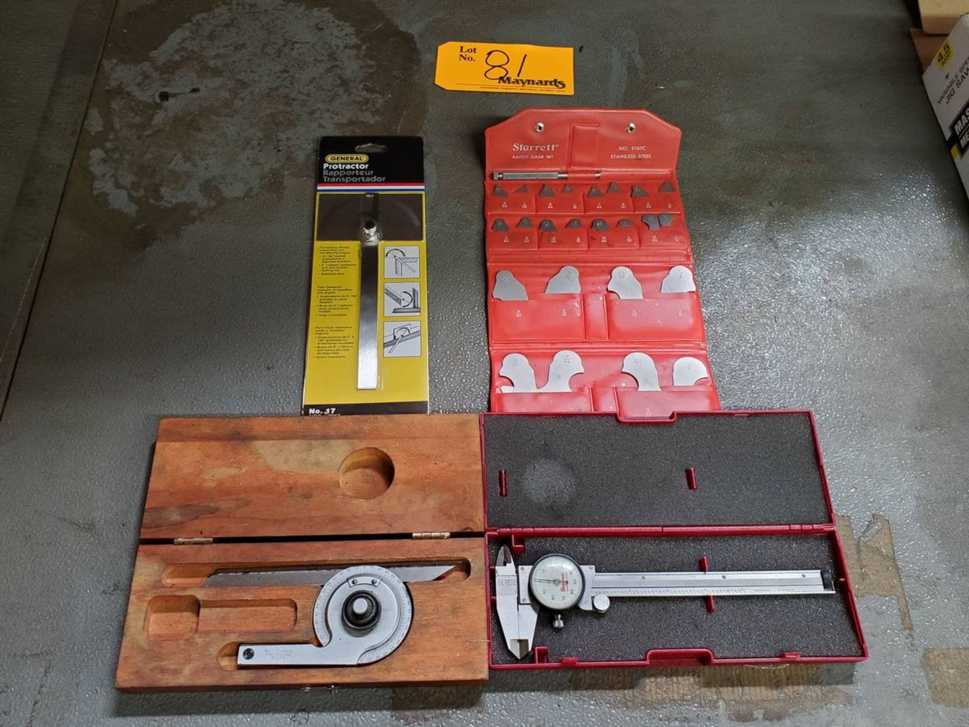 Lot 81 - Measuring Instruments