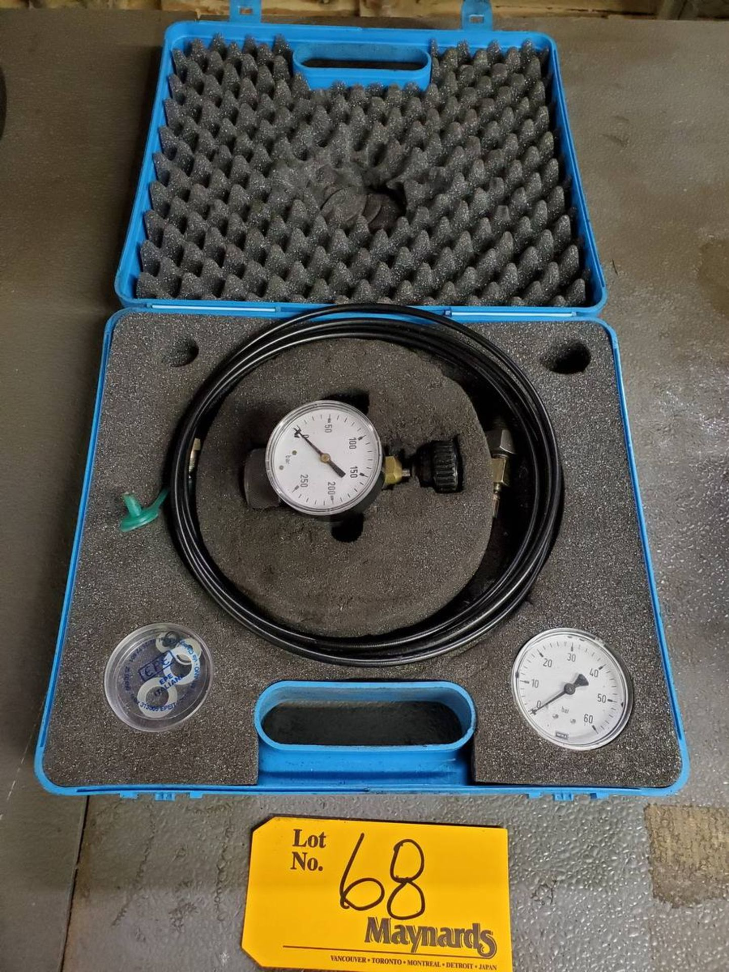 Lot 68 - EPE PC250 Nitrogen Pre-Fill Valve Set