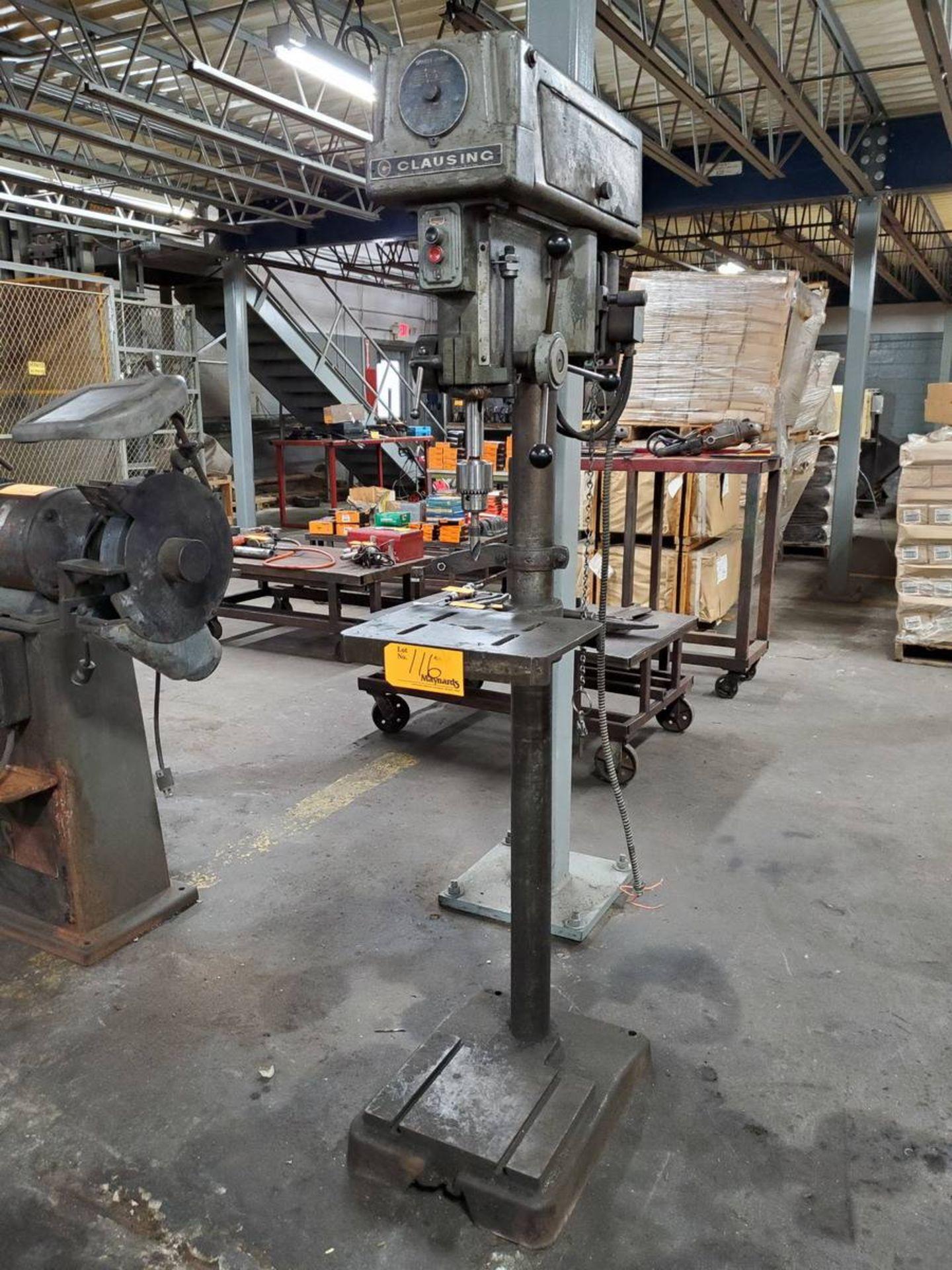 Lot 116 - Clausing 16ST Drill Press