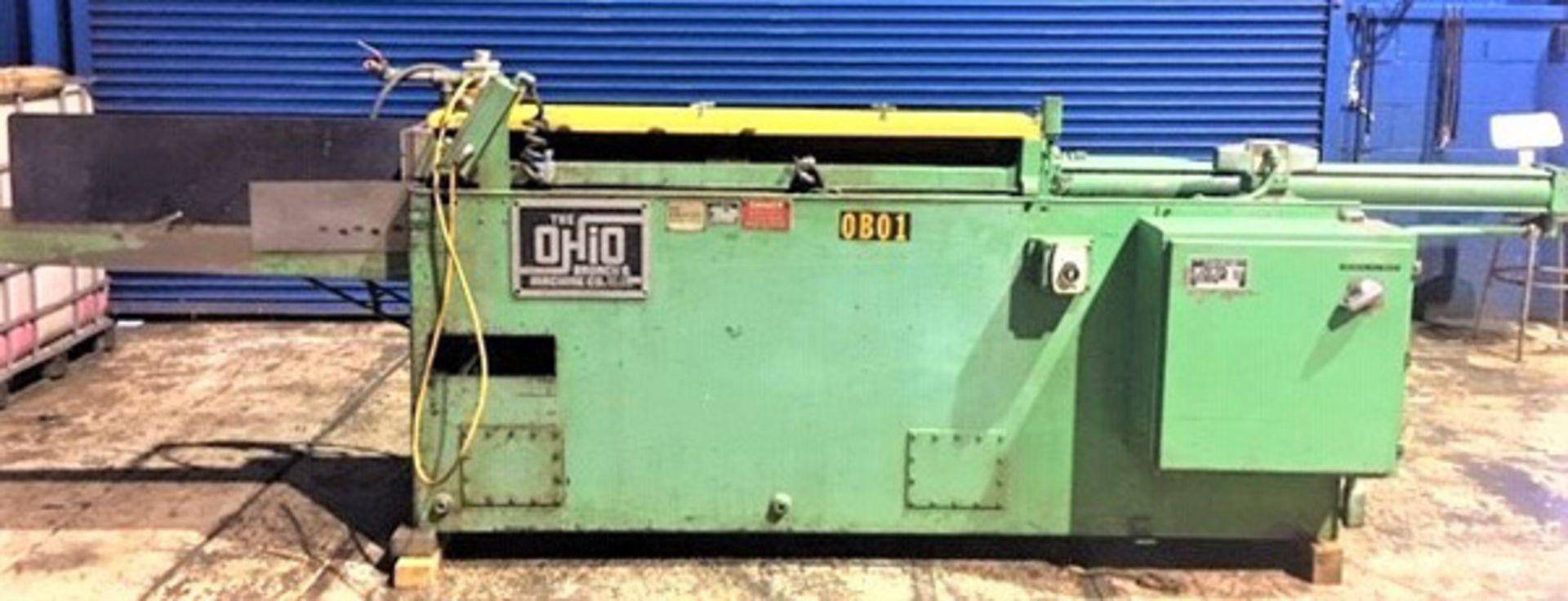"Lot 14 - Ohio Horizontal Broaching Machine   5-Ton x 48"", Mdl: H548RR, S/N: 18125-76 - 8429P"