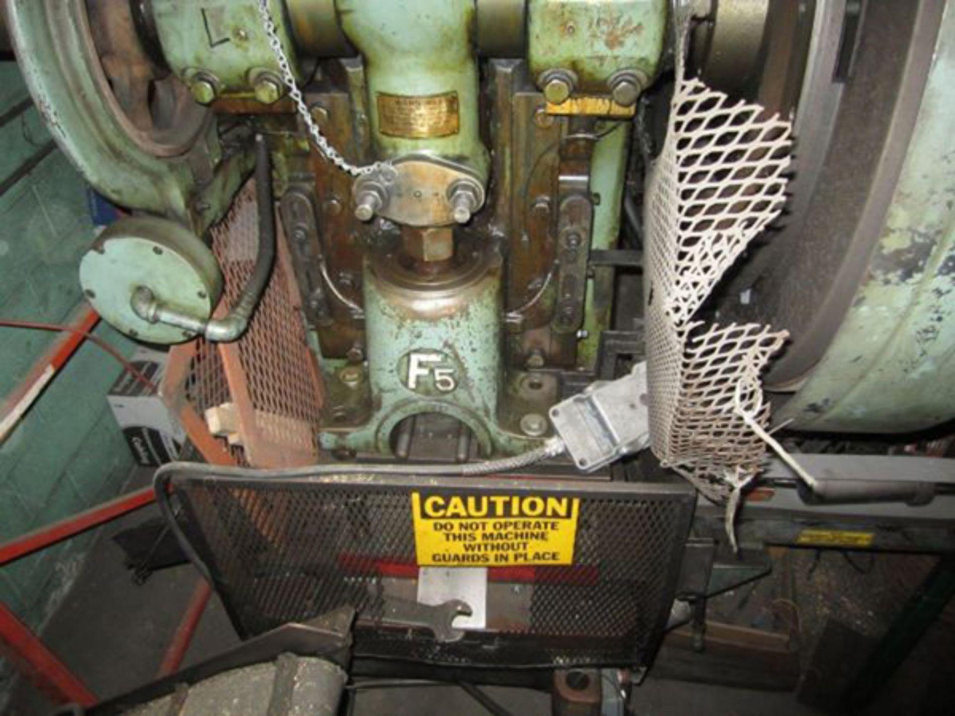 "Federal OBI Punch Press   60-Ton x 29 1/2"" x 18 1/2"", Mdl: F-5, S/N: 125400 - 6397P - Image 4 of 6"