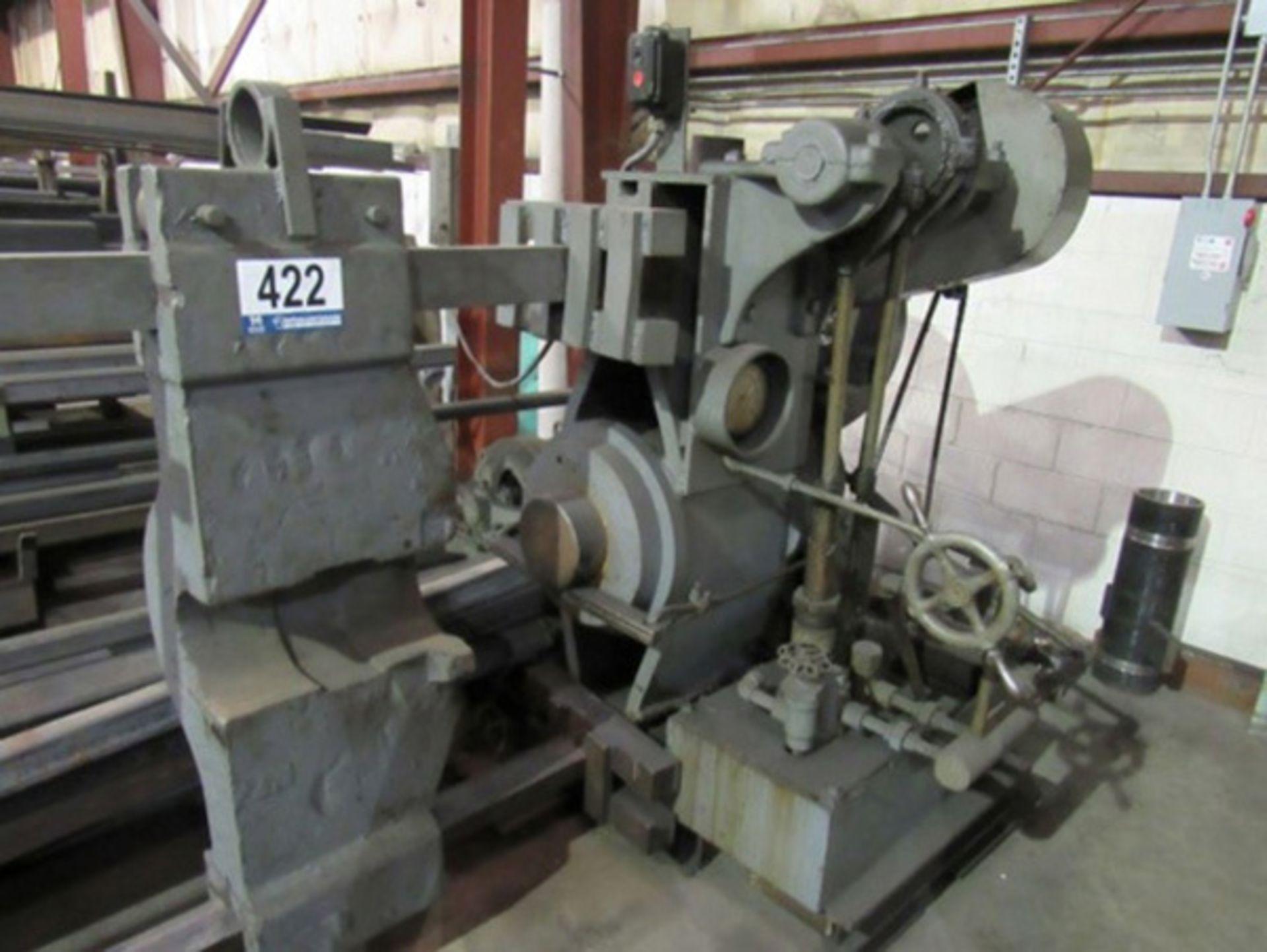 "Rogers Hydraulic Wheel Press | 100-Ton x 120"", Mdl: 2877, S/N: N/A - 8097P - Image 2 of 7"