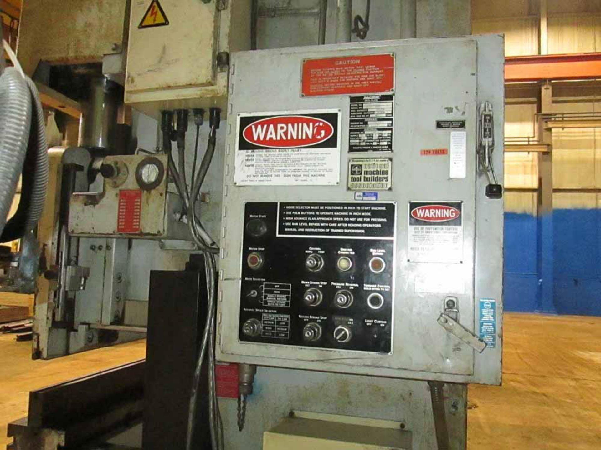 Lot 38 - 1986 Pacific CNC 2 Axis Hydraulic Press Brake   110-Ton x 12', Mdl: J110-12, S/N: 9999 - 6426P