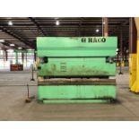 1998 Haco CNC Hydraulic Press Brake | 300 Ton x 12', Mdl: PPM36300, S/N: 58738, Located In: