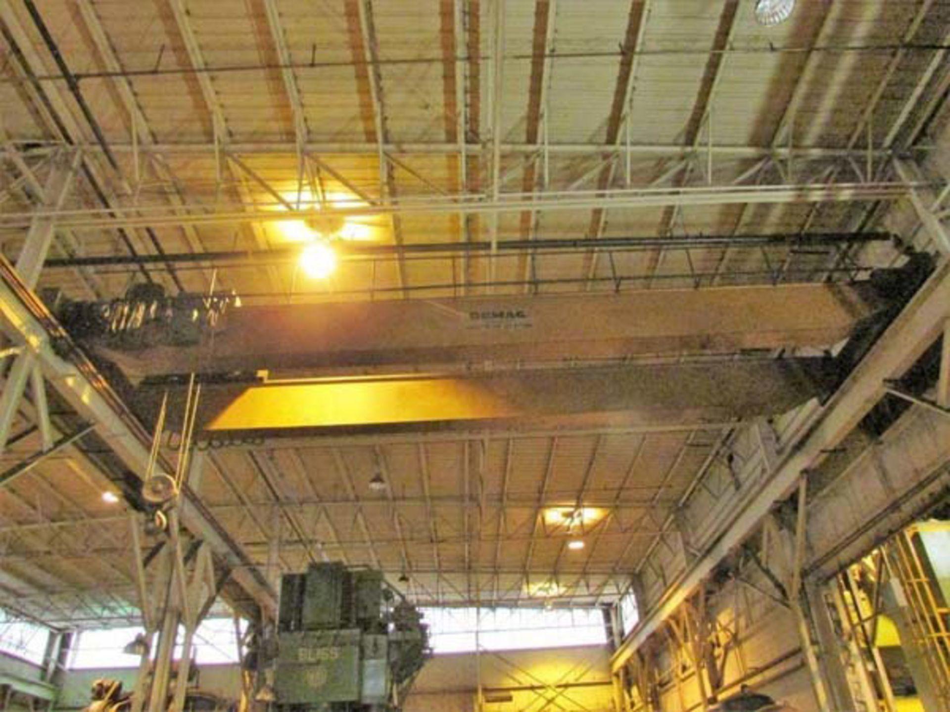 Demag Top Riding Double Girder Bridge Crane | 25-Ton x 50', Mdl: N/A, S/N: 75066 - 8398P - Image 7 of 10
