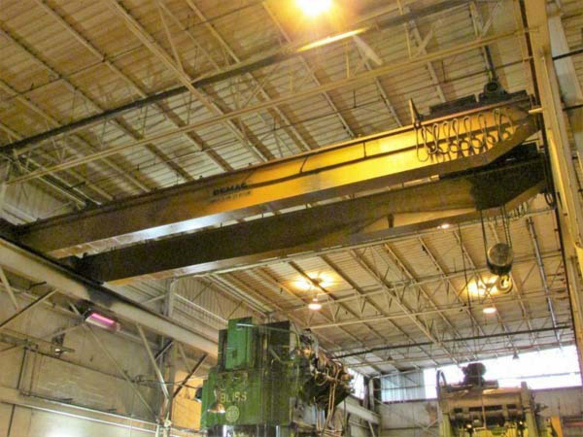 Demag Top Riding Double Girder Bridge Crane | 25-Ton x 50', Mdl: N/A, S/N: 75066 - 8398P - Image 3 of 10