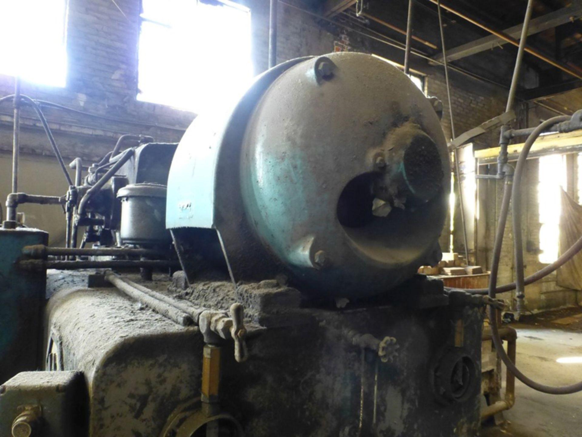 "Lot 14A - Williams & White 100 Ton Hydraulic Bulldozer   12"" x 60"" Cross Head; S/N: 0-3154, Located In:"