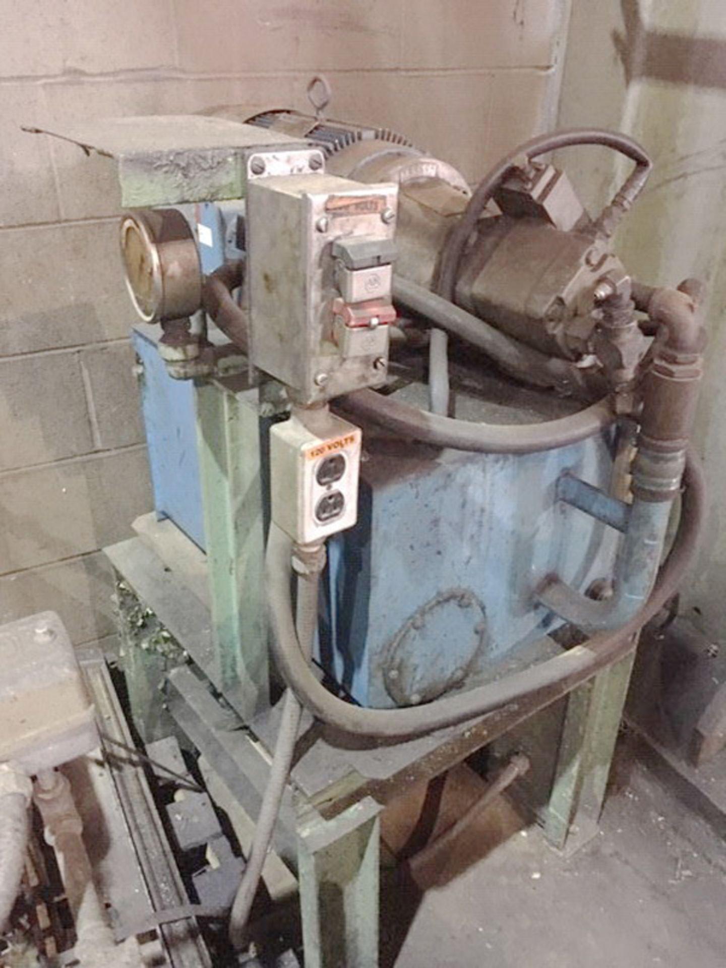 "Rodgers Hydraulic Horizontal Wheel Press | 200-Ton x 144"", Mdl: F200/4/D-1, S/N: F200-1097 - 6630P - Image 8 of 9"