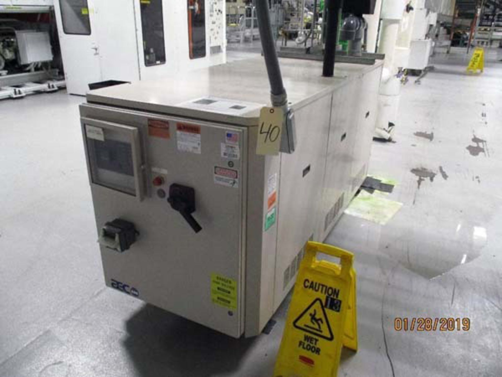Lot 3 - AEC Refrigerated Water Chiller   30-Ton, Mdl: PSW-30, S/N: 35D0671 - 8468P