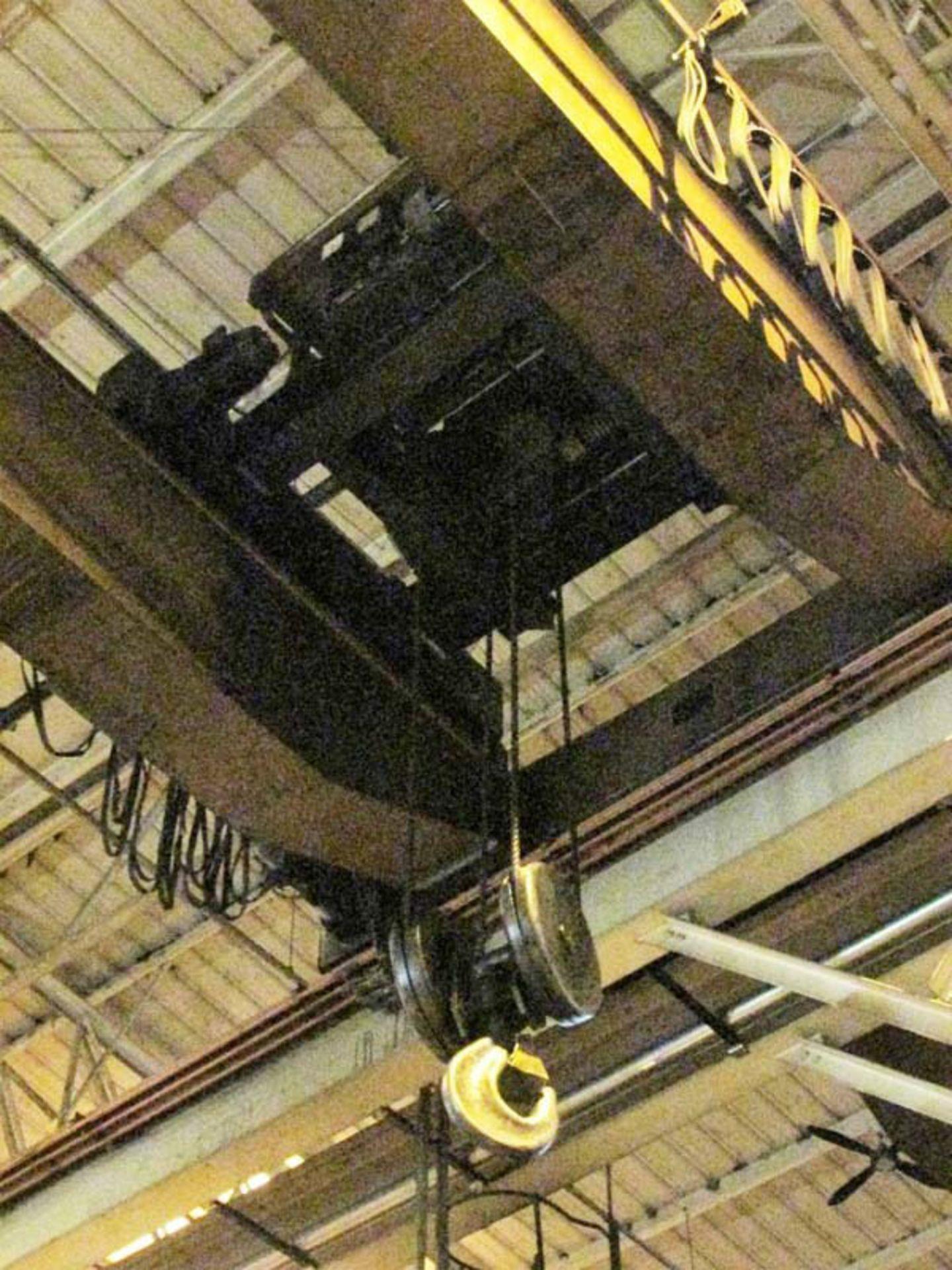 Demag Top Riding Double Girder Bridge Crane | 25-Ton x 50', Mdl: N/A, S/N: 75066 - 8398P - Image 4 of 10