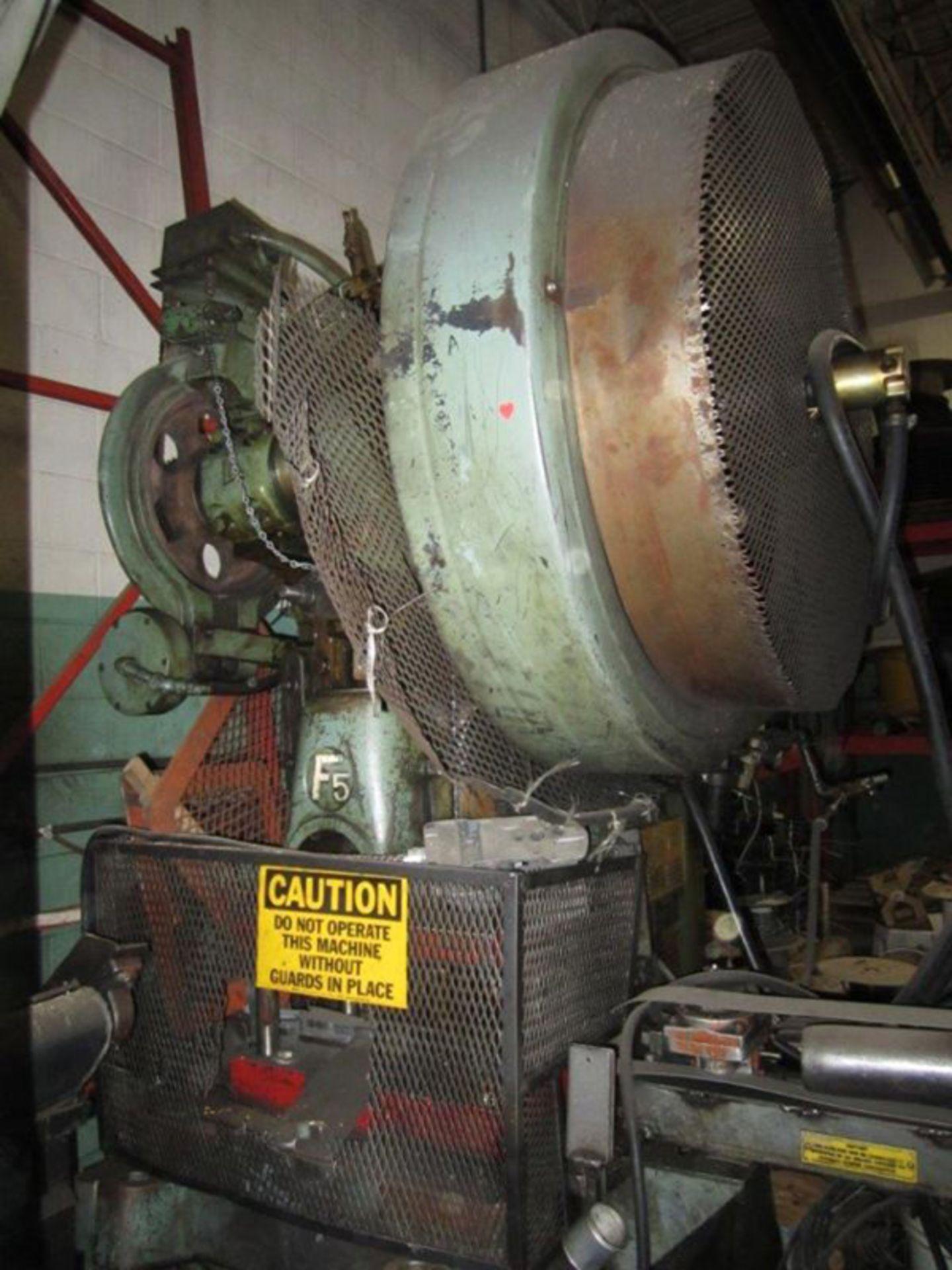 "Federal OBI Punch Press   60-Ton x 29 1/2"" x 18 1/2"", Mdl: F-5, S/N: 125400 - 6397P - Image 2 of 6"