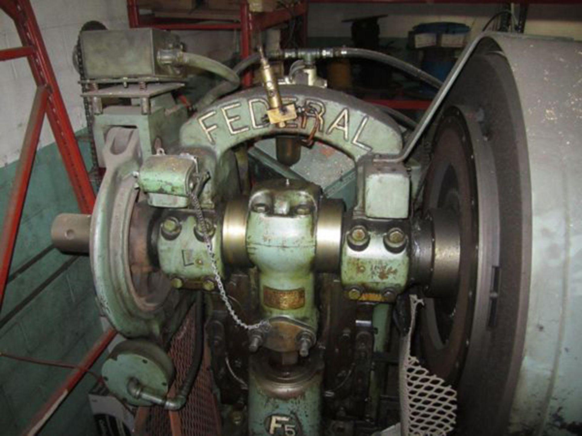 "Federal OBI Punch Press   60-Ton x 29 1/2"" x 18 1/2"", Mdl: F-5, S/N: 125400 - 6397P - Image 3 of 6"