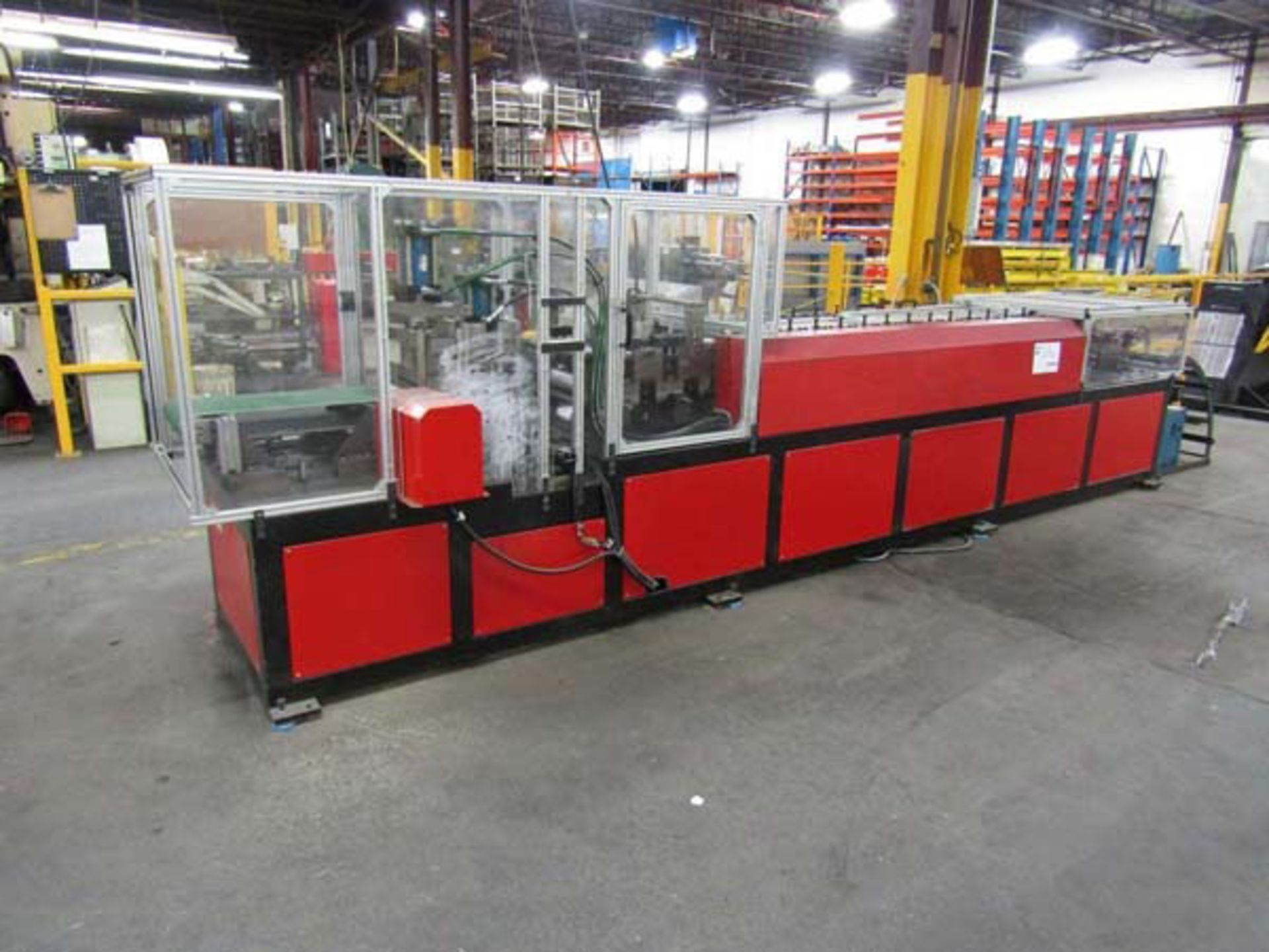 "Lot 47 - 2016 ACL Rollforming Line | 14 Stand x 13.75"" RS x 1.5"" Shaft, Mdl: LZJ-HCB, S/N: 16111001 - 8448P"
