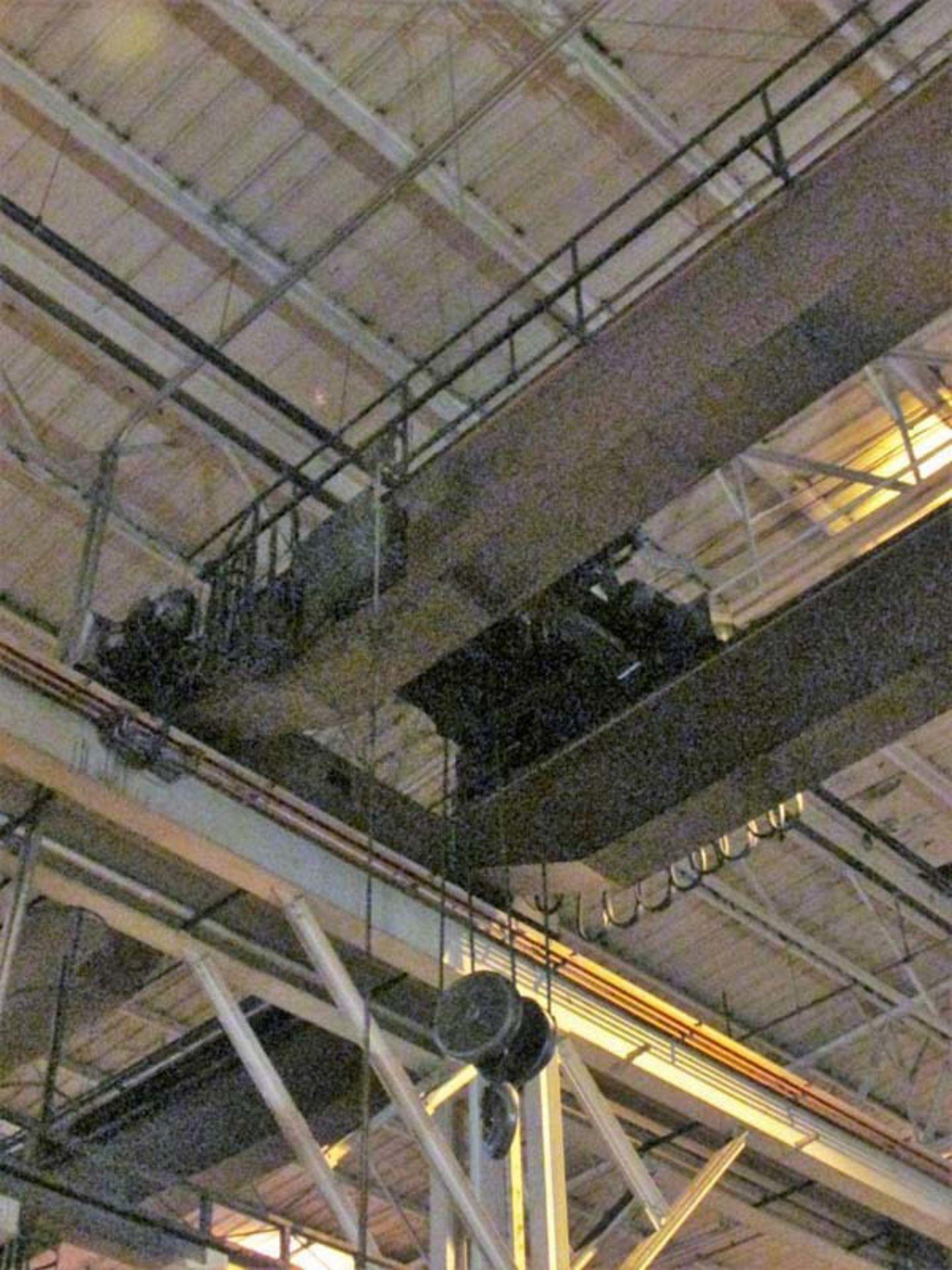 Demag Top Riding Double Girder Bridge Crane | 25-Ton x 50', Mdl: N/A, S/N: 75066 - 8398P - Image 6 of 10