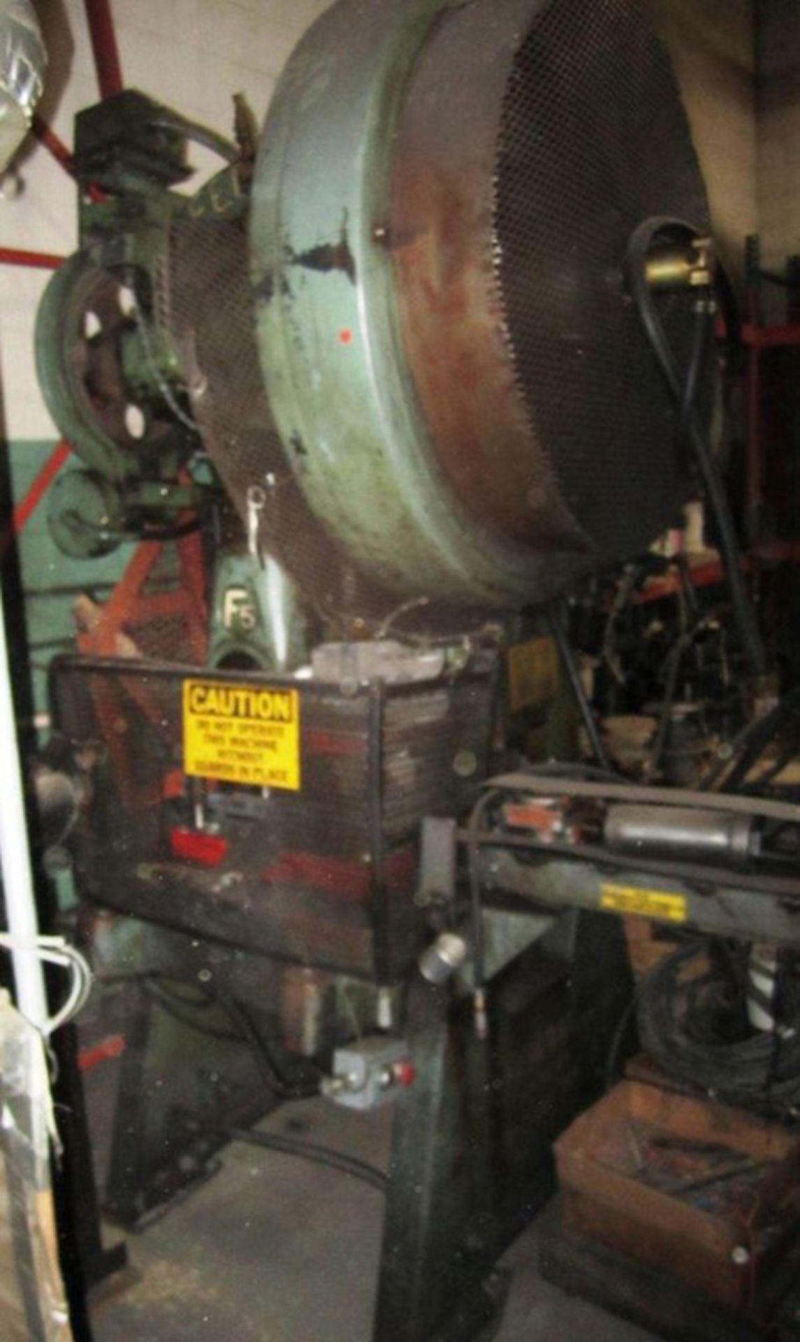 "Federal OBI Punch Press   60-Ton x 29 1/2"" x 18 1/2"", Mdl: F-5, S/N: 125400 - 6397P"