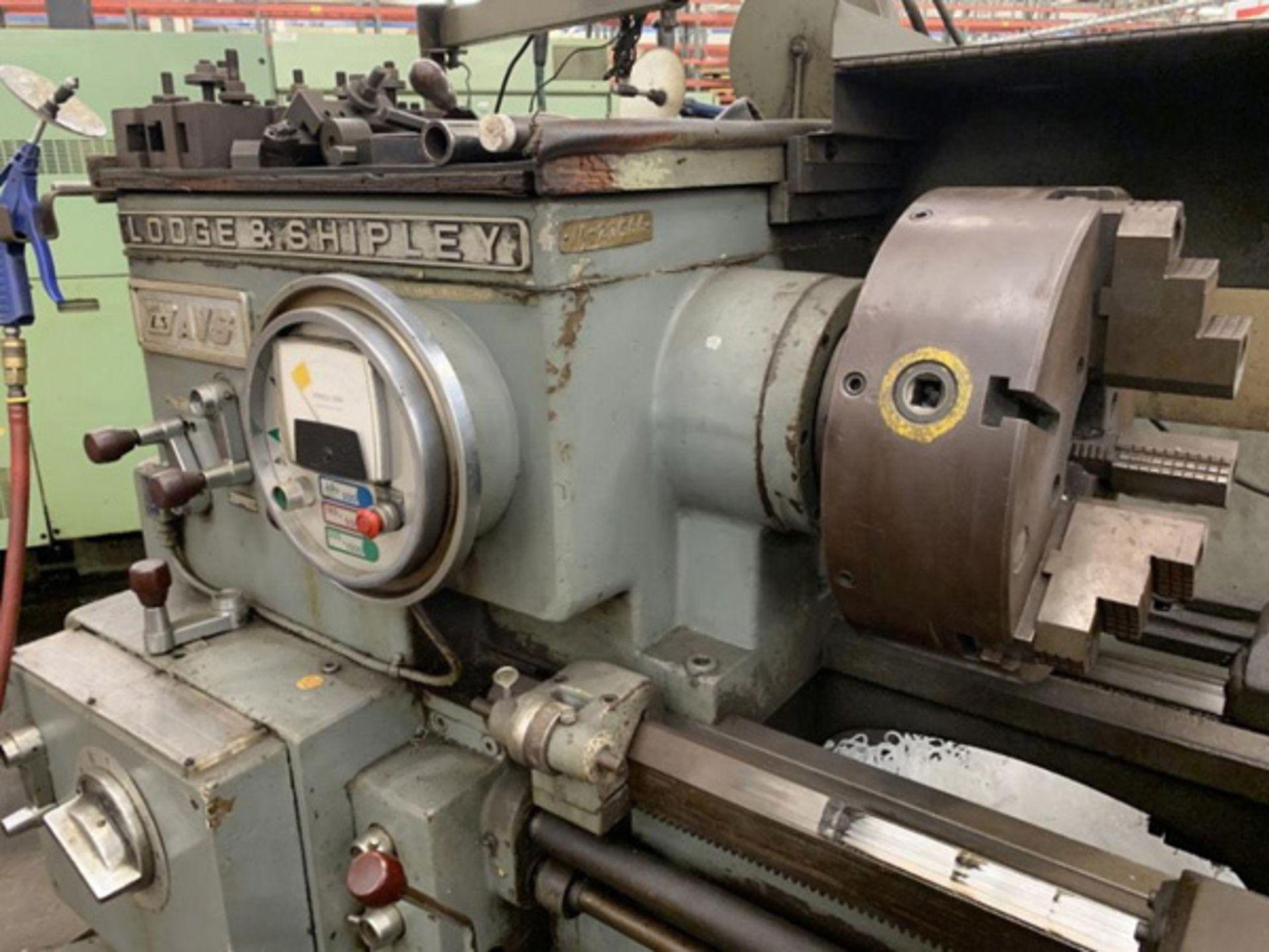"Lot 19 - Lodge & Shipley Engine Lathe | 20"" x 78"", Mdl: AVS 2013, S/N: 49393 - 8384P"