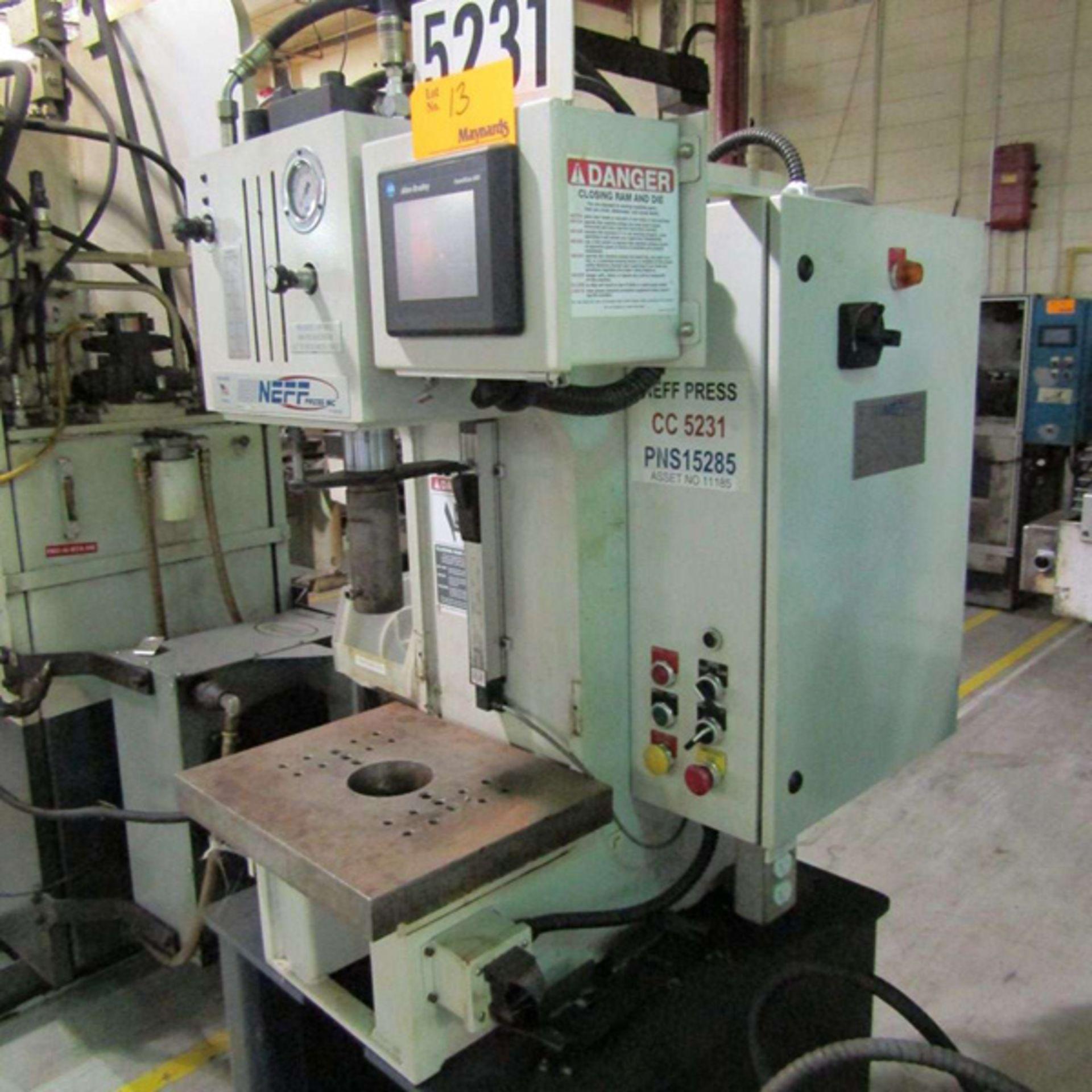 2008 Neff D7-5M C Hydraulic C Frame Press | 7-Ton, Mdl: D7-5M, S/N: 12335 - 8141P - Image 2 of 4