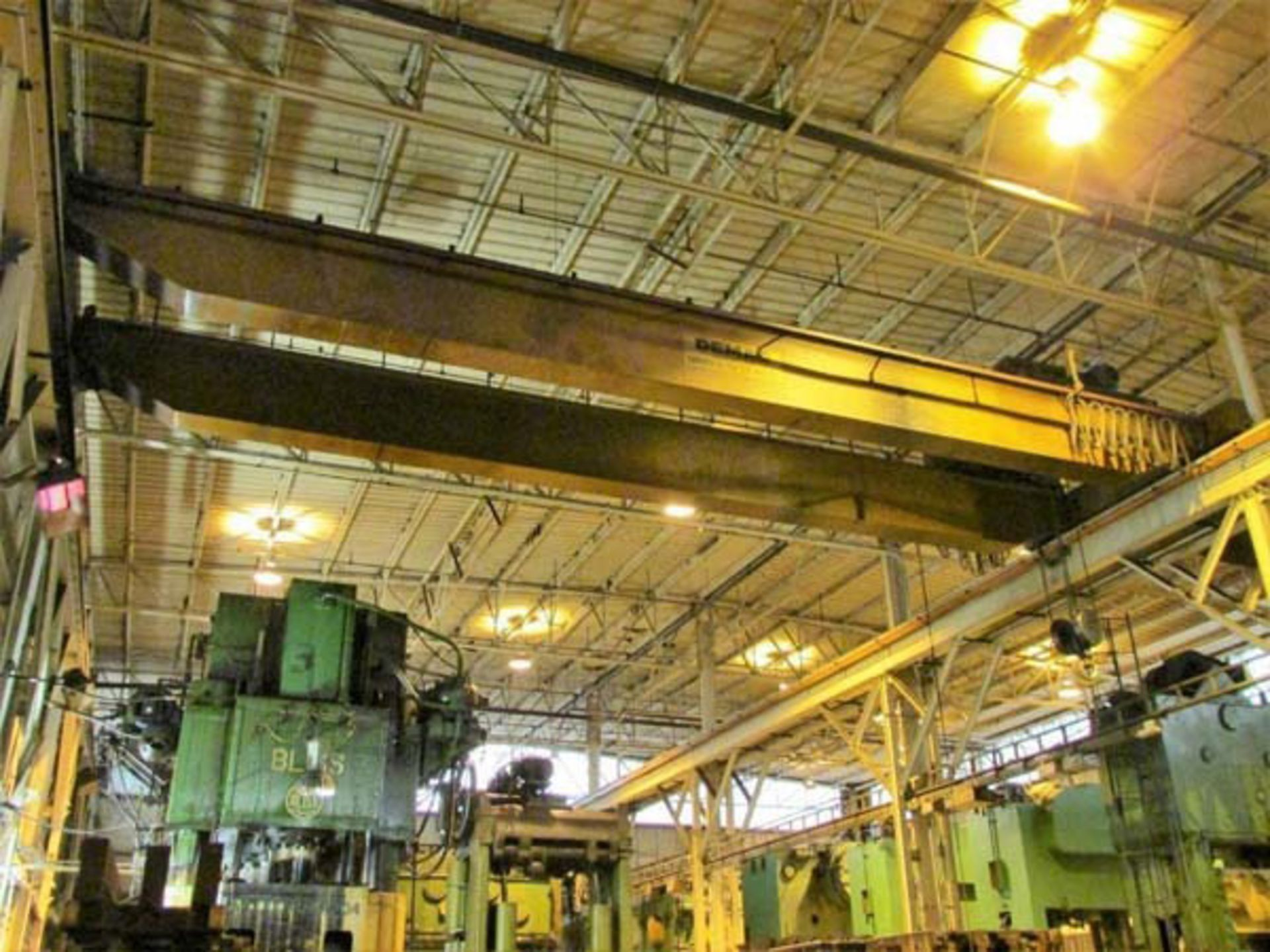 Demag Top Riding Double Girder Bridge Crane | 25-Ton x 50', Mdl: N/A, S/N: 75066 - 8398P