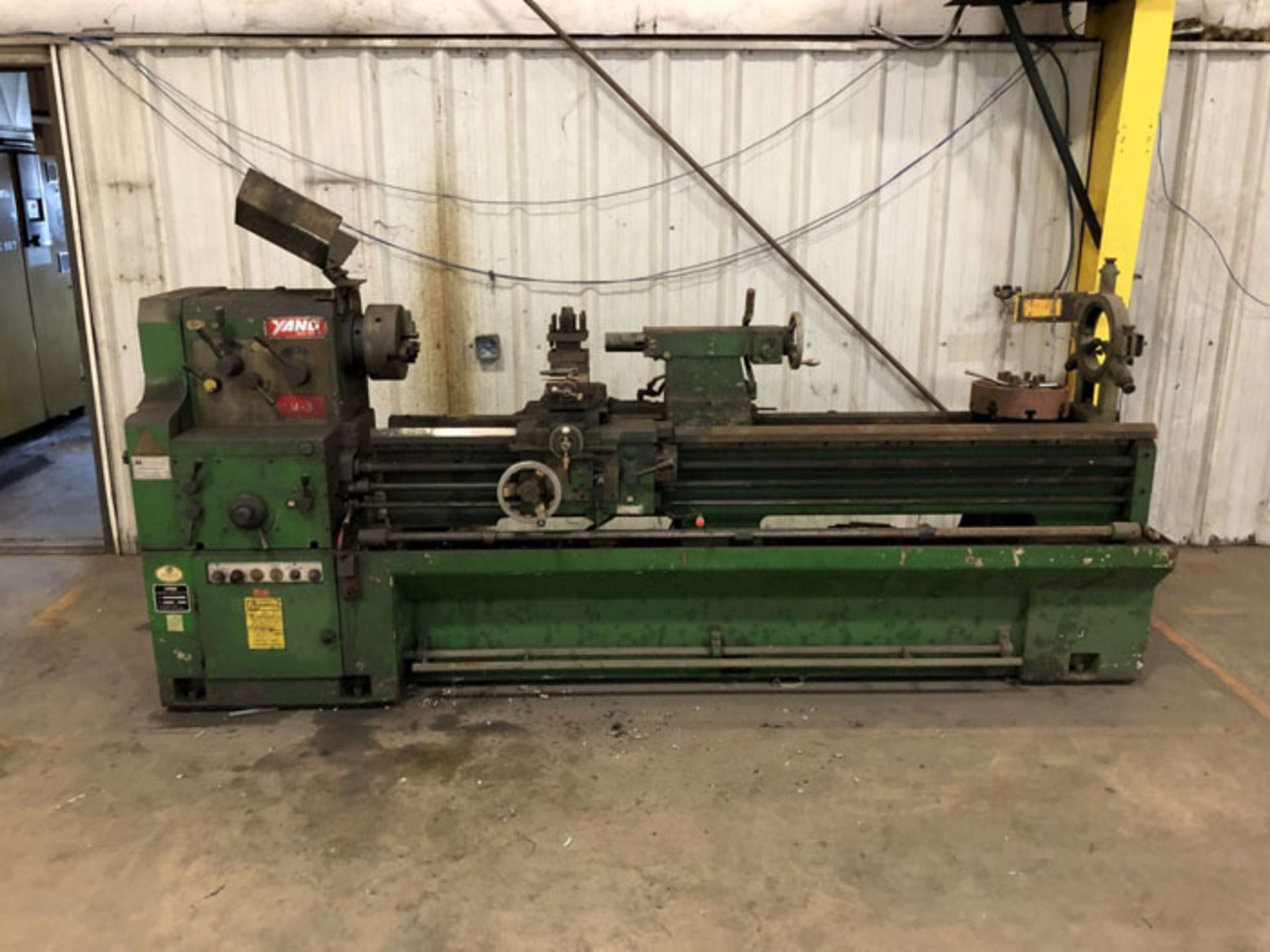 "Lot 17A - 1994 Yang Engine Lathe | 22"" x 78"", Mdl: 56200G, S/N: B92425, Located In: Painesville, OH -"