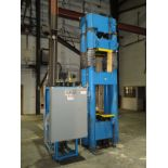 """2002 Beckwood Four Post Hydraulic Powder Compaction Press (Up & Down Acting) 