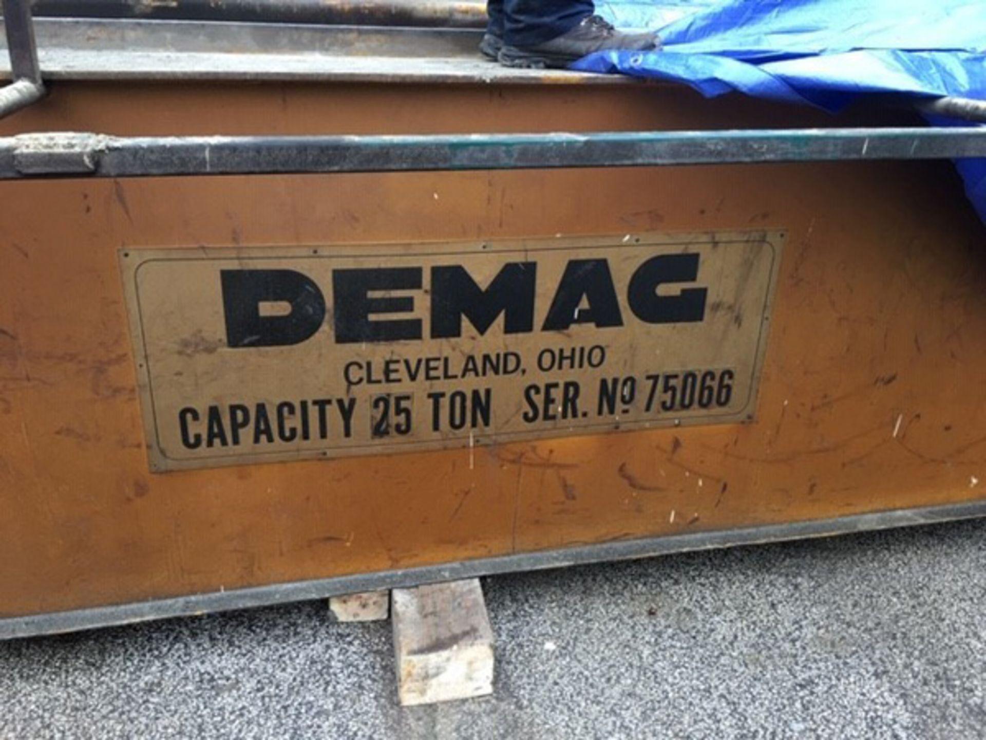 Demag Top Riding Double Girder Bridge Crane | 25-Ton x 50', Mdl: N/A, S/N: 75066 - 8398P - Image 10 of 10