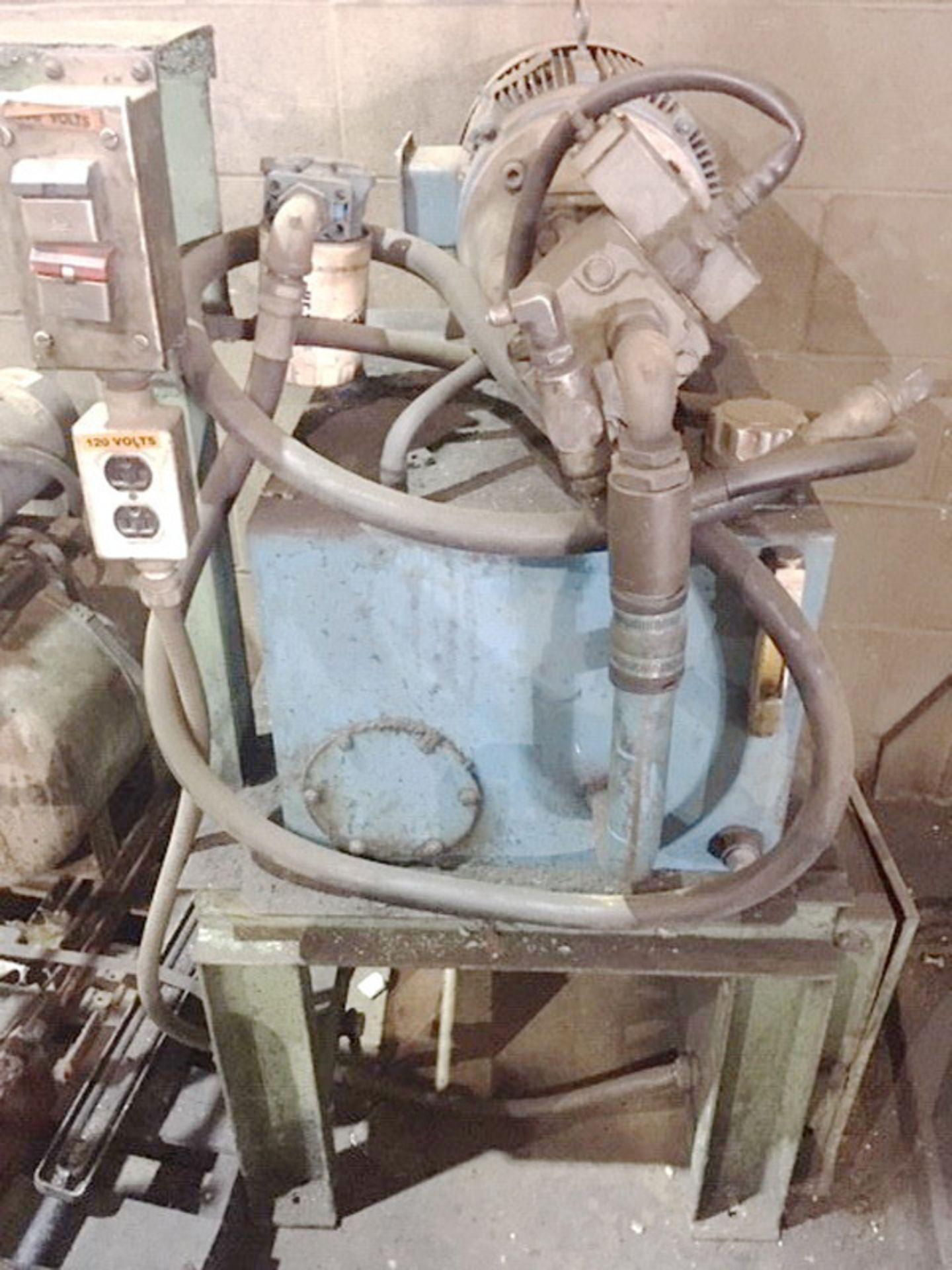"Rodgers Hydraulic Horizontal Wheel Press | 200-Ton x 144"", Mdl: F200/4/D-1, S/N: F200-1097 - 6630P - Image 9 of 9"