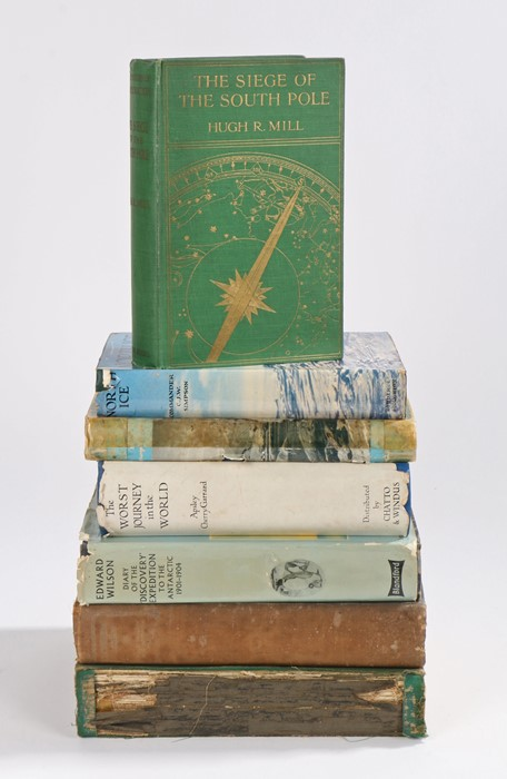 Lot 81 - Polar, to include the books Hugh R. Mill, The Siege of the South Pole, Commander C.J.W. Simpson,