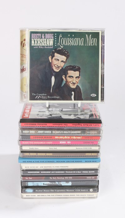 Lot 11 - 13 x Early Rock and Roll and Rockabilly Compilation CDs