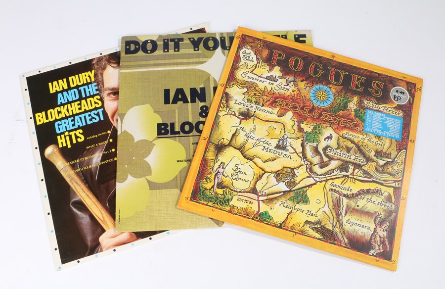 Lot 49 - 3x Rock/Alternative LPs. Ian Dury and the Blockheads(2) - Do it Yourself, Greatest hits. The