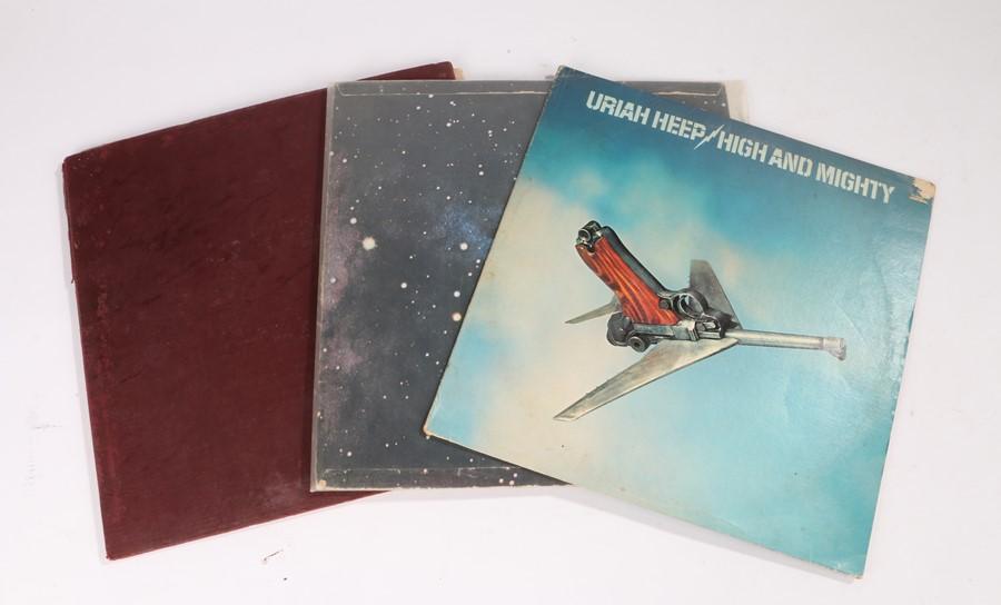 Lot 52 - 3x Progressive Rock LPs. King Crimson - Islands (ILPS 9175), Jethro Tull - Living in the Past (CJT