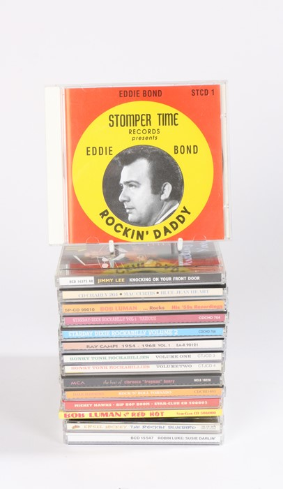 Lot 10 - 15 x Rockabilly compilation CDs