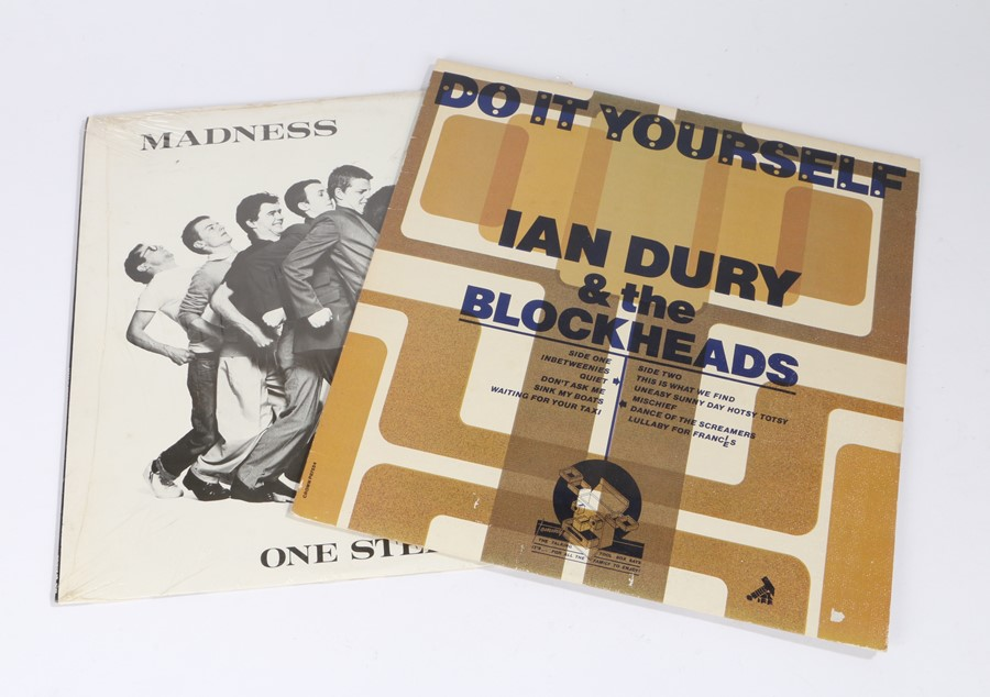 Lot 31 - 2x LPs. Madness - One Step Beyond. Ian Dury and the Blockheads - Do It Yourself.