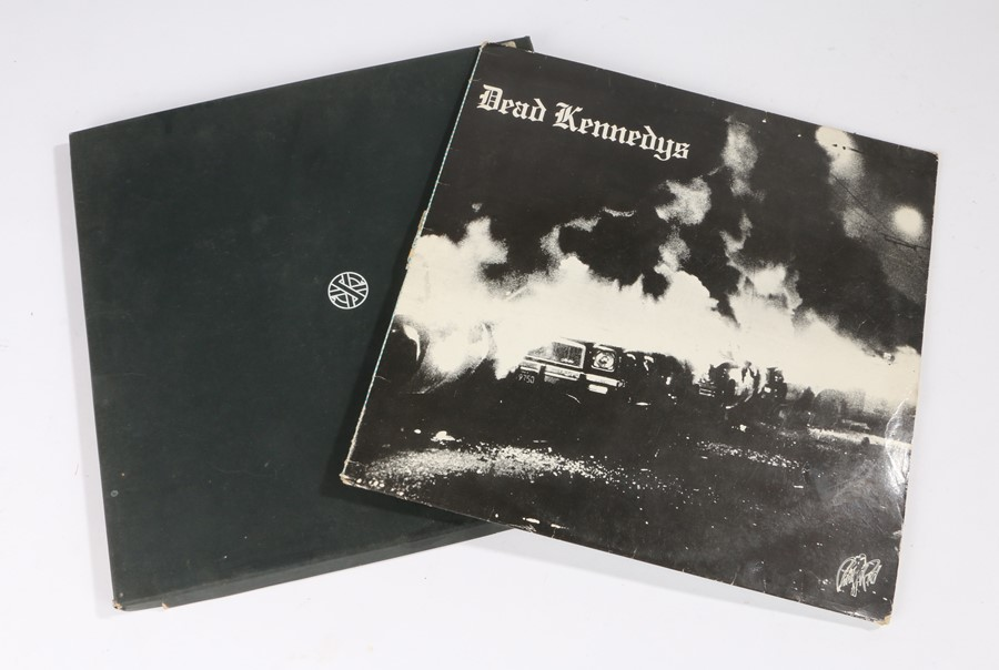 Lot 53 - 2x Punk LPs. The Dead Kennedys - Fresh Fruit for Rotting Vegetables. Crass - Christ-The Album, boxed