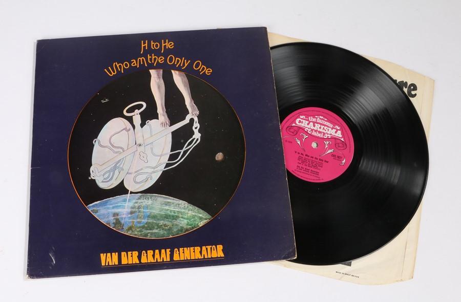 Lot 17 - Van Der Graaf Generator - H To He LP, Pink Scroll label, gate fold sleeve 1st pressing (CAS 1027)