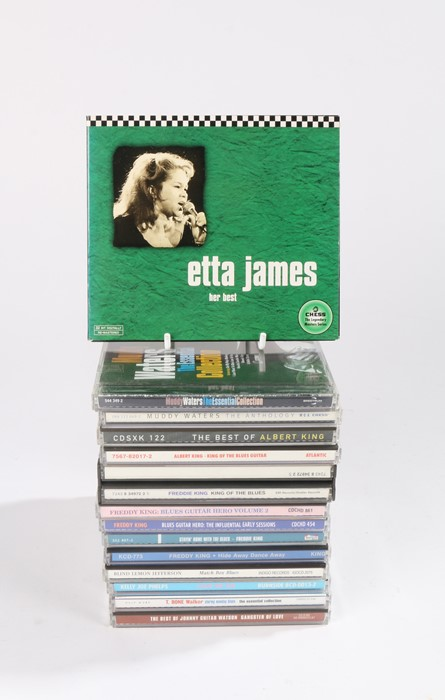 Lot 15 - Collection of CDs to include Blues compilations by Artists such as Albert King, Muddy Waters, Etta