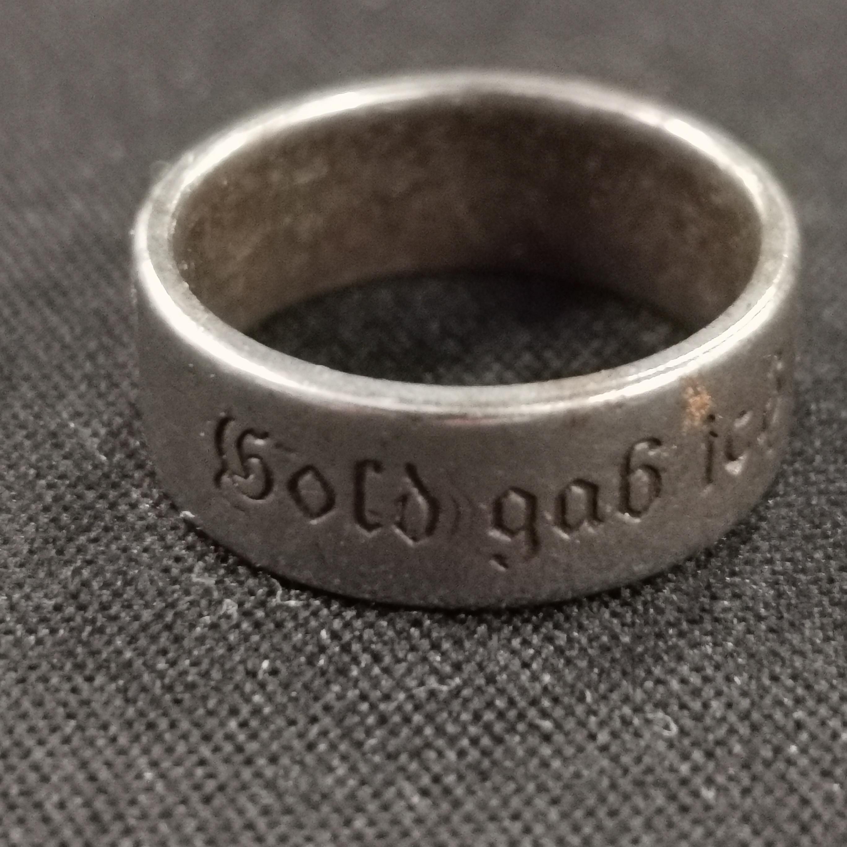 Lot 302 - WW1 GERMAN RING