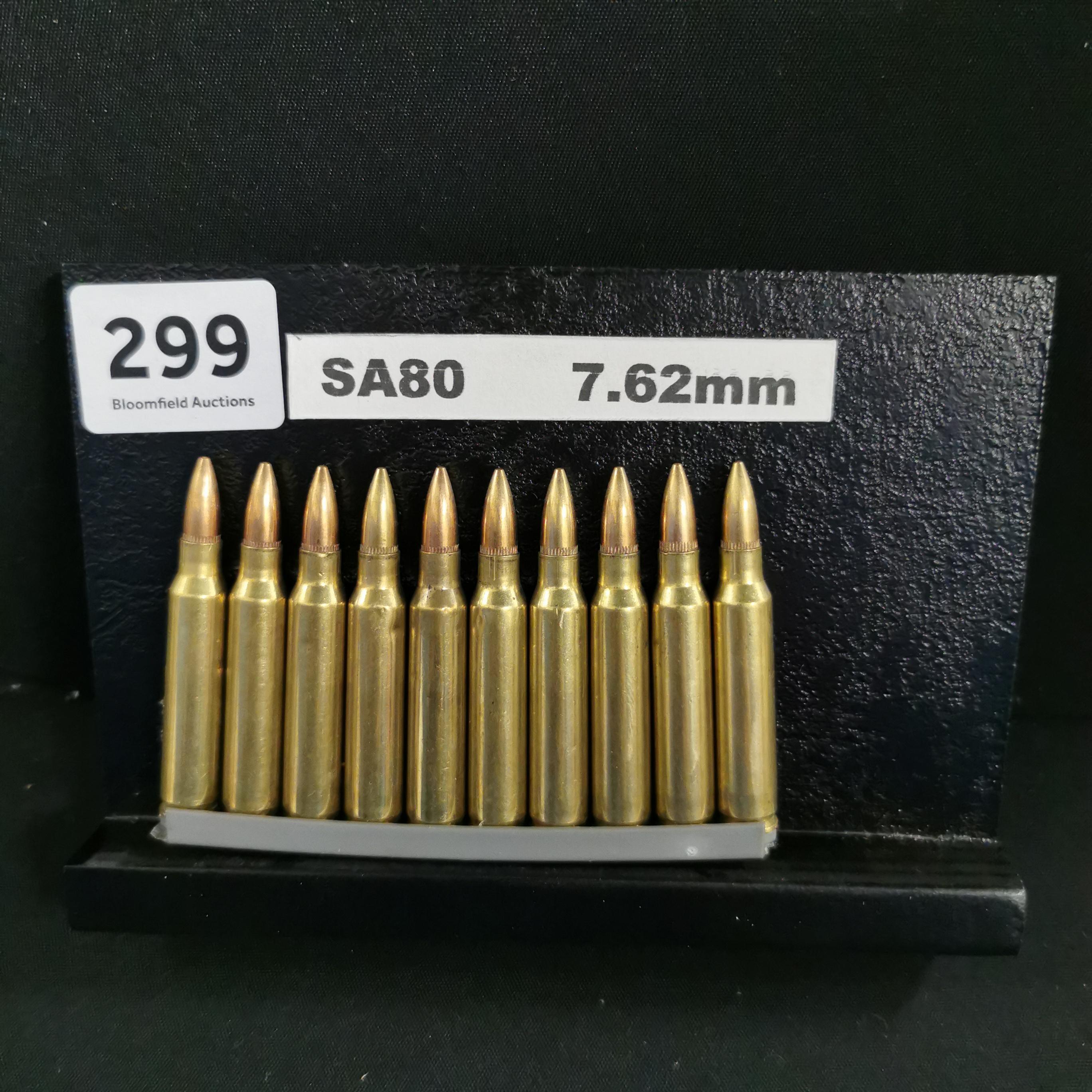 Lot 299 - SA80 INERT ANNUNITION CLIP