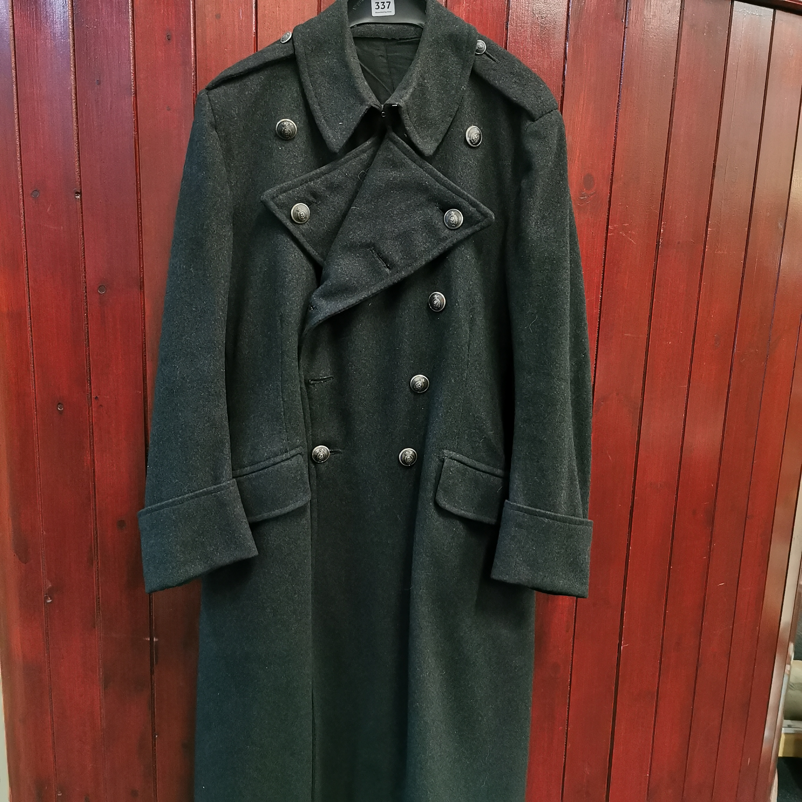 Lot 337 - RUC GREAT COAT