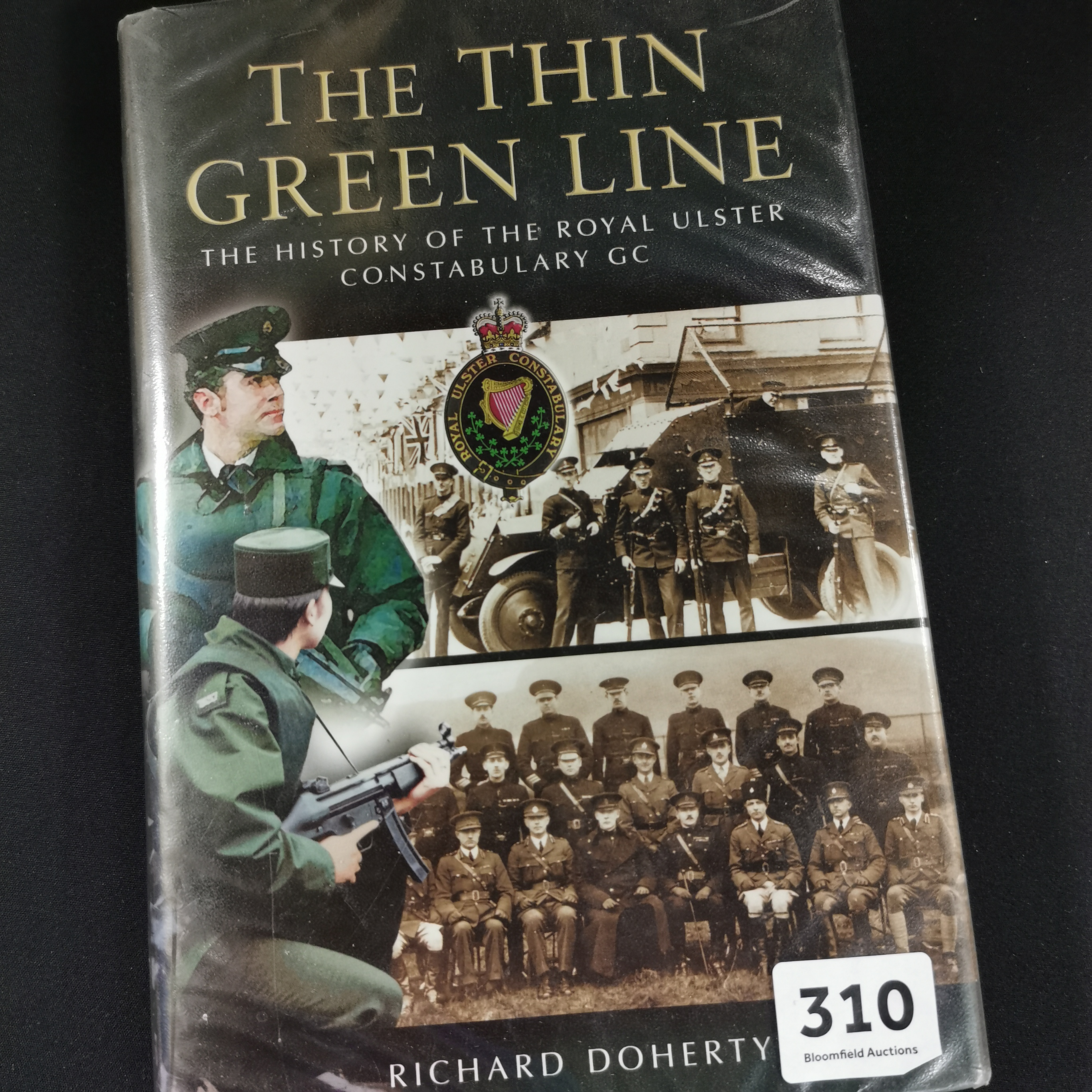 Lot 310 - RUC BOOK THE THIN GREEN LINE