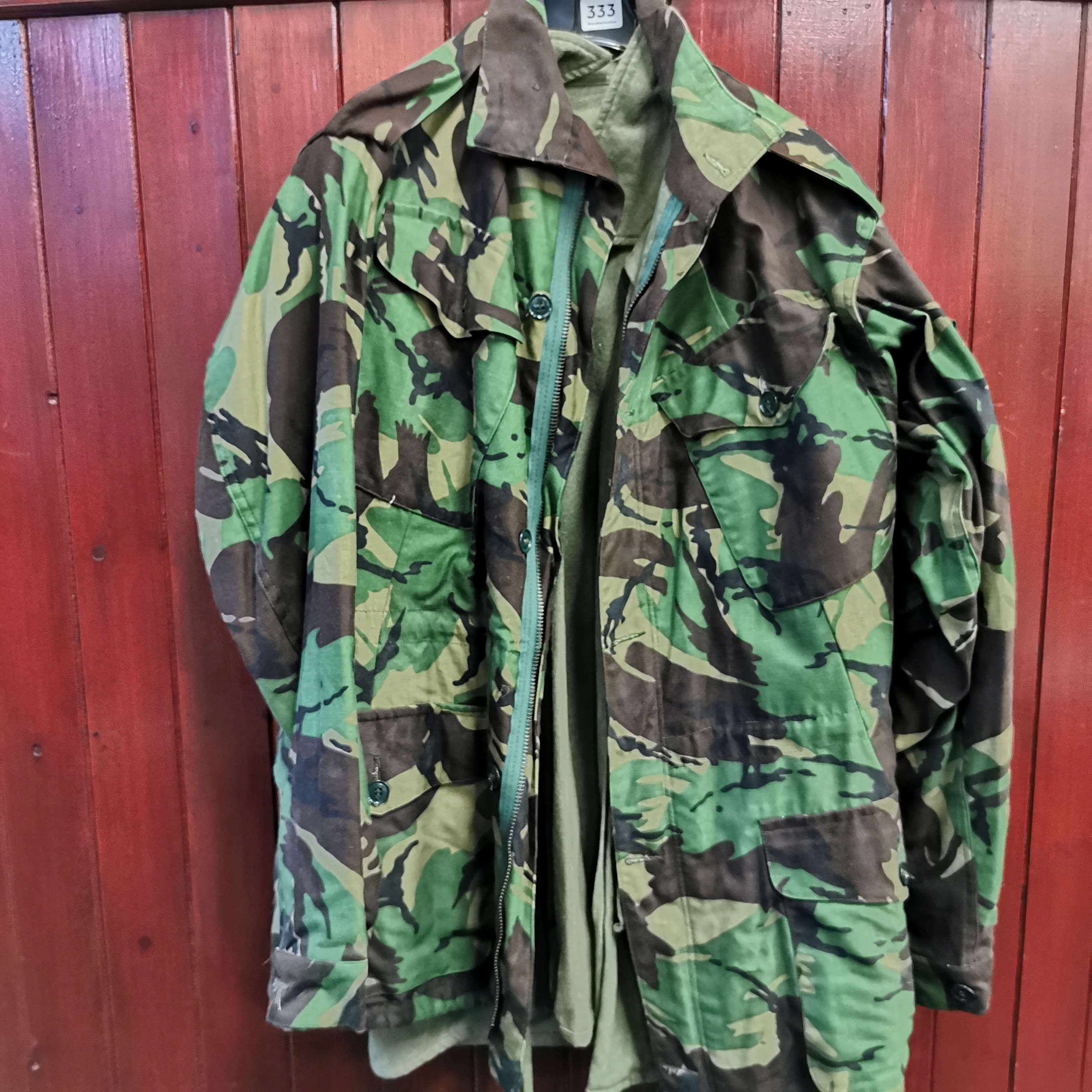 Lot 333 - QTY OF MILITARY JACKETS