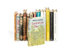 Ɵ William Golding, Lord of the Flies, plus a near-complete set of works, first editions