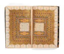 Ɵ A fine Ottoman Qur'an, by the scribe Ozman Zadeh Mustafa bin Muhammad, copied on only 17 leaves