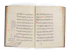 "Ɵ Khalasa al-Hisab (a Summation of Mathematics), copied by the scribe ""al-Taqsil Abbas"""