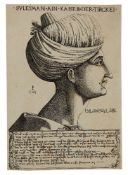 A collection of early wood-cut and engraved plates of Ottoman Sultans and important Oriental figures