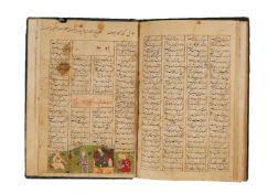 Ɵ Nizami Ganjavi, Khadr-nama, fragmentary text including other sections from the Khamsa,