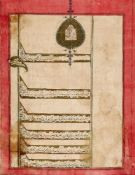A Collection of Nine Grants and Deeds, in Farsi, illuminated and decorated manuscripts on paper [Qaj